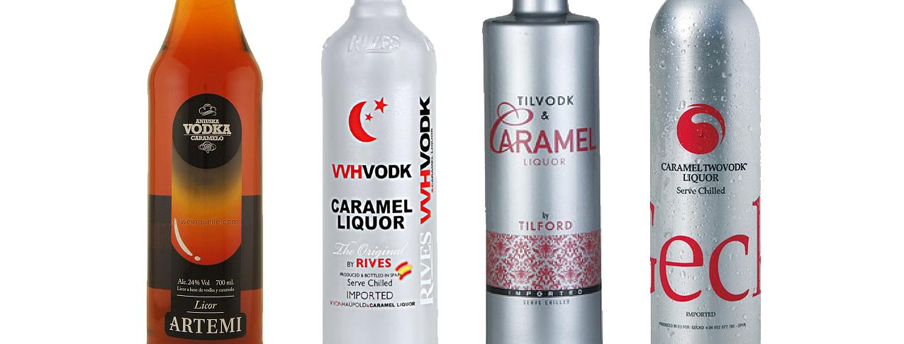 Vodka Caramelo en Bodecall