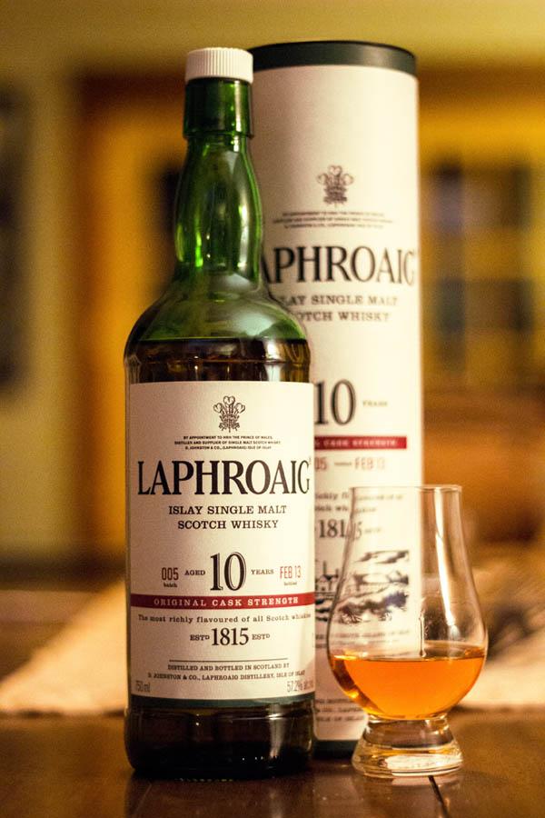 Laphroaig Single Malt Islay 10 años