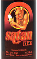 Etiqueta Satan Red