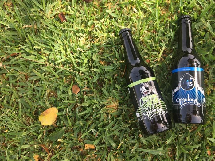 Cervezas Malaqa en cesped_Bodecall