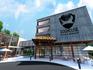 Brewdog Doghouse. Hotel de craft beer en Ohio.