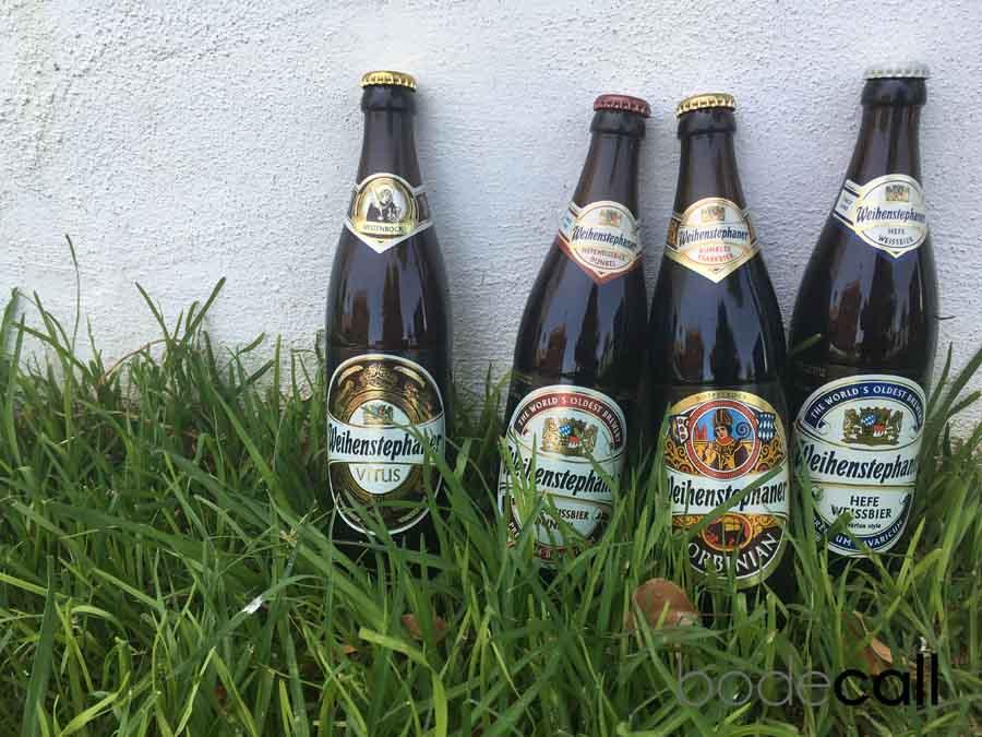 Cerveza de abadía Weihenstephaner
