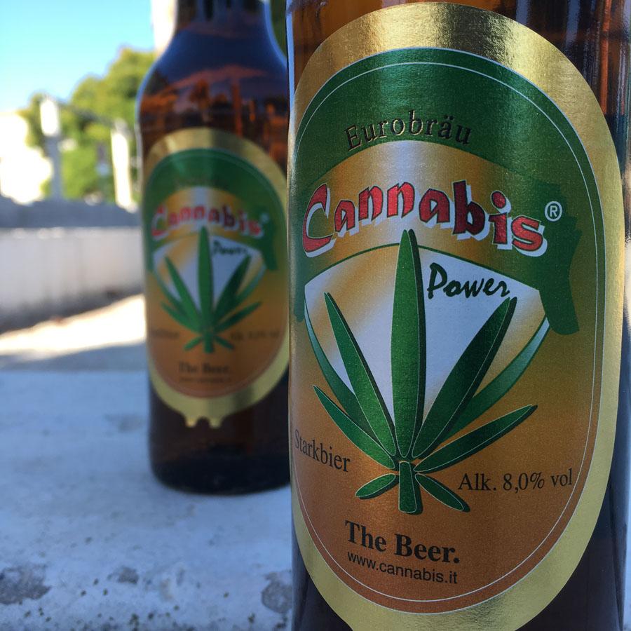 Cerveza Cannabis Red Power