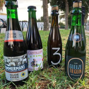 Cervezas Lámbicas: Timmermans Tilquin, Cantillon, 3 Fonteinen