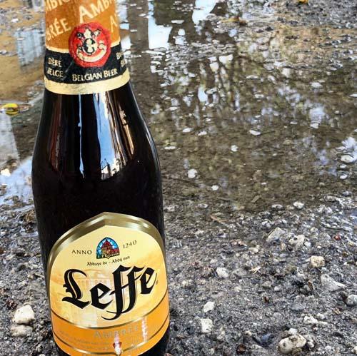 Leffe Ambrée, cerveza ámbar de abadía