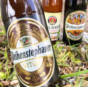 Cerveza alemana. Weihenstephaner y Paulaner