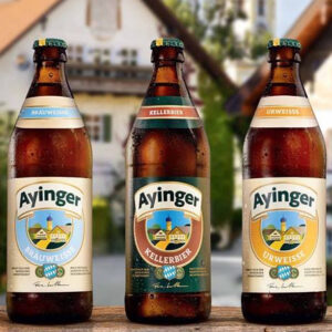 Cervezas bávaras Ayinger