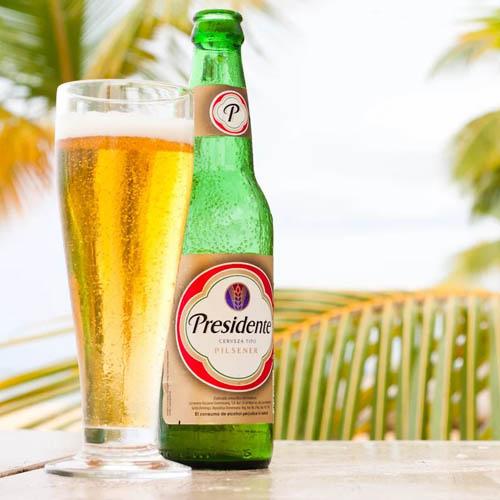 Cerveza Pilsner Presidente