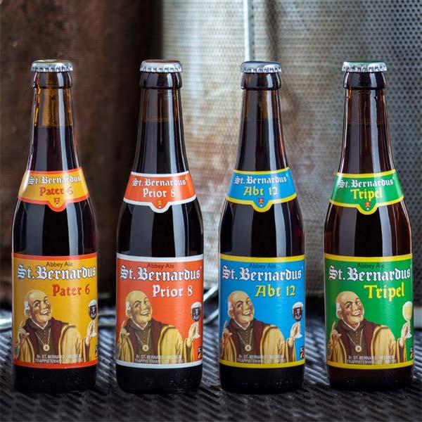 Cervezas Belgas de Abadía St Bernardus