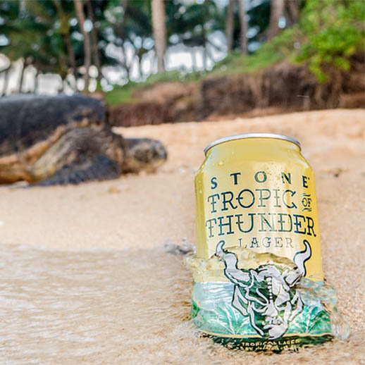 Stone of Tropic Thunder Lager