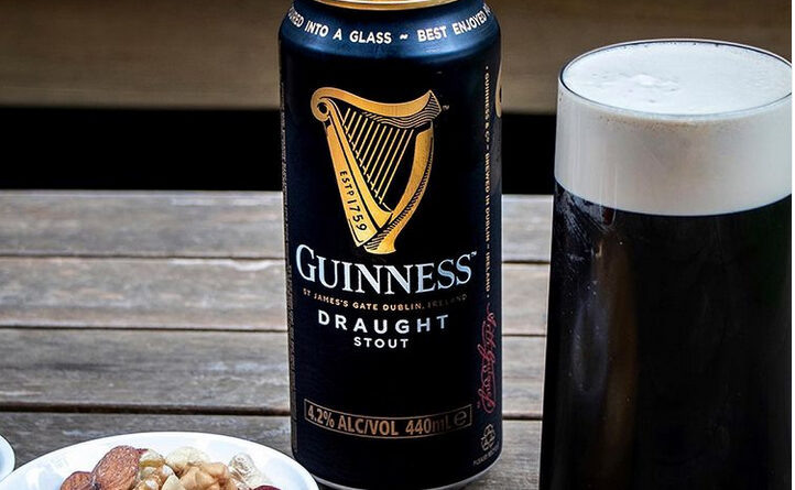 Cerveza Stout irlandesa Guinness Draught