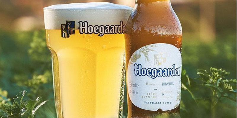 Cerveza blanca Witbier Hoegaarden