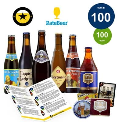12 beers with a perfect RateBeer score.