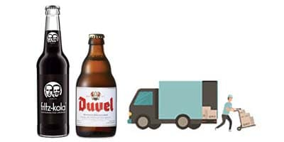 Free Shipping to Spain on beer and soft drinks orders