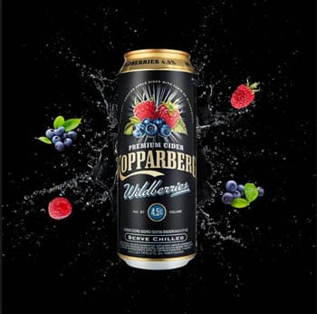 Kopparberg Wildberries en Bodecall