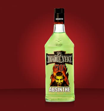 Absinth Le Diable Vert in Bodecall