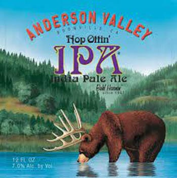 Anderson Valley Hop Ottin IPA en Bodecall