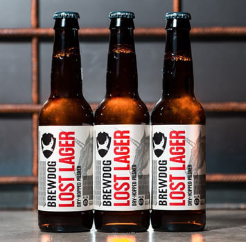 Brewdog Lost Lager en Bodecall