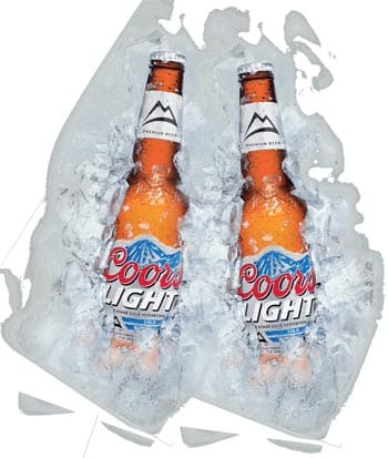 Coors Light en Bodecall