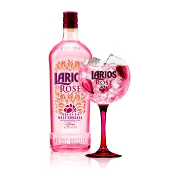 Gin Larios Rosé in Bodecall