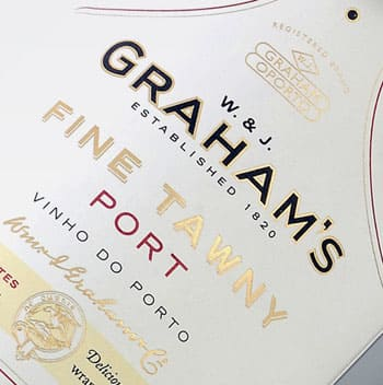 Graham's Fine Tawny Port en Bodecall