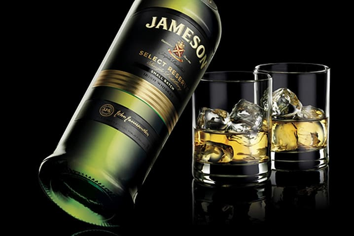 Jameson Select Reserve in Bodecall