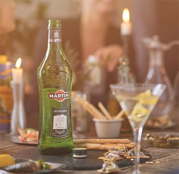 Martini Extra Dry en Bodecall