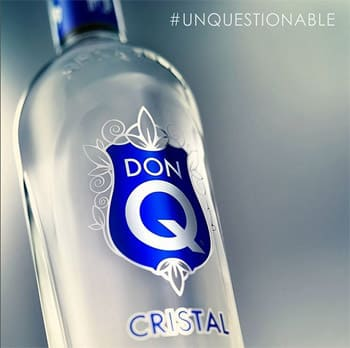 Ron Don Q Cristal en Bodecall