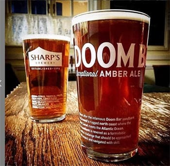 Sharps Doom Bar Exceptional Amber Ale en Bodecall