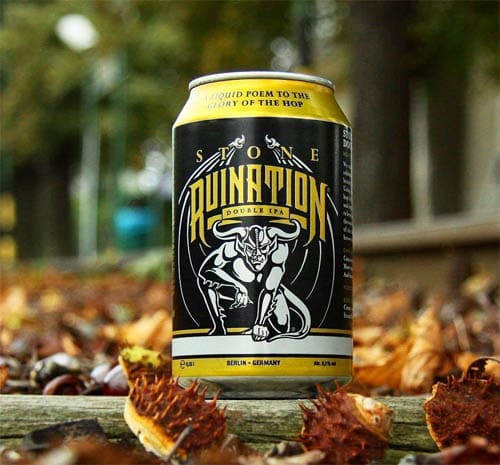 Stone Ruination Double IPA en Bodecall