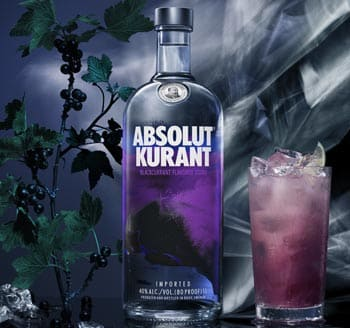 Vodka Absolut Kurant en Bodecall