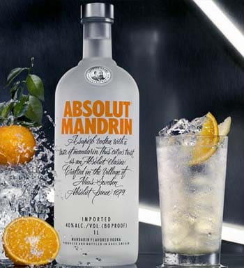Vodka Absolut Mandarina en Bodecall