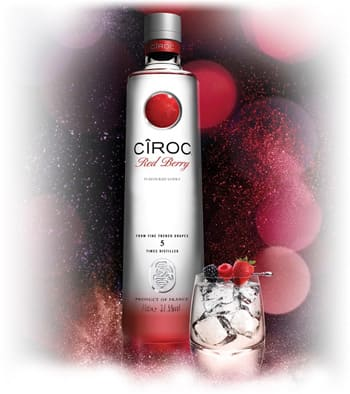 Vodka Ciroc Red Berry en Bodecall
