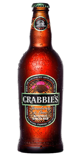 Crabbie´s Strawberry and Lime Ginger Beer