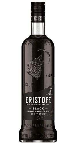 Vodka Eristoff Black 70 cl