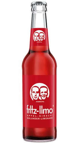 Fritz-limo Apfel Kirsch Holunder Limonade
