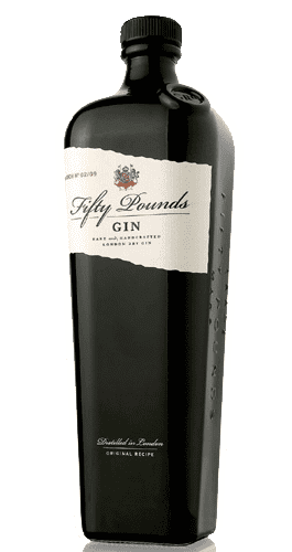 Gin Fifty Pounds. 70 cl