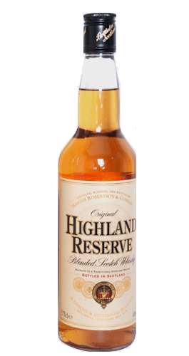 Highland Reserve Scotch