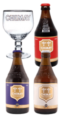 Pack Trilogy Chimay 3 Cervezas 1 Vaso