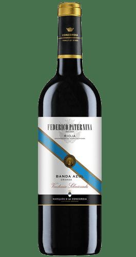 Comprar Rioja Banda Azul Tinto 3 4