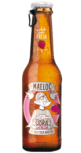 Sidra Maeloc Fresa Strawberry